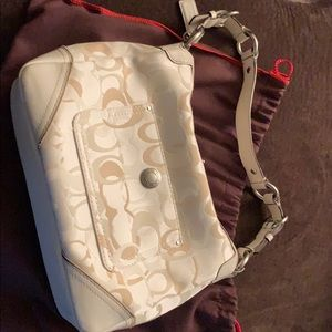 Coach bag hardly ever used
